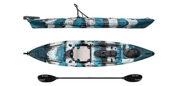 Vibe Kayaks Sea Ghost 130