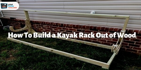 how to build a kayak rack out of wood